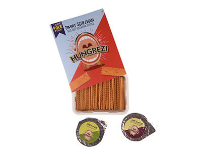 Simply Schezwan Red Hot with Dip