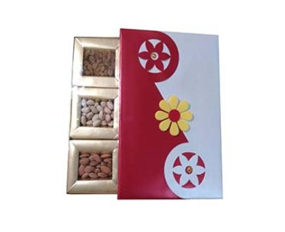 Golden Designed Gift Box