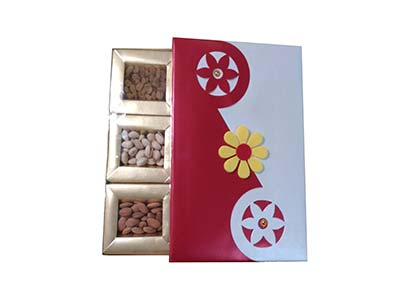 Golden Designed Gift Box