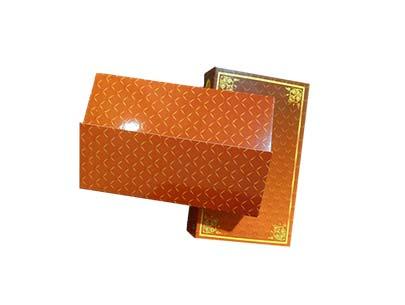 Dry Fruits Orange Gift Box