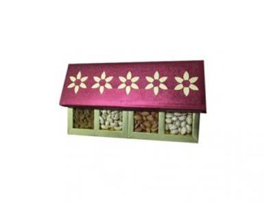 Yellow Decorative Gift Box