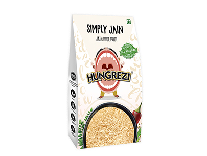 Hungrezi Simply Jain Rice Podi