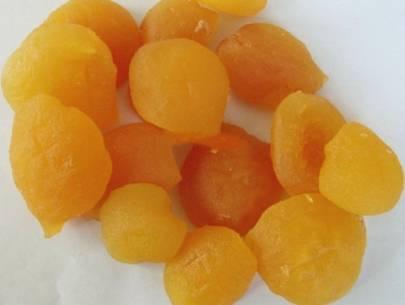 dried yellow peach